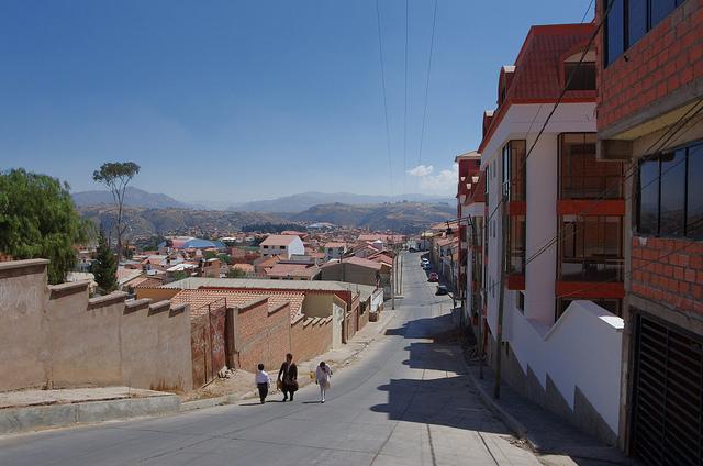Jour 16 Bolivie Sucre calle Azurduy