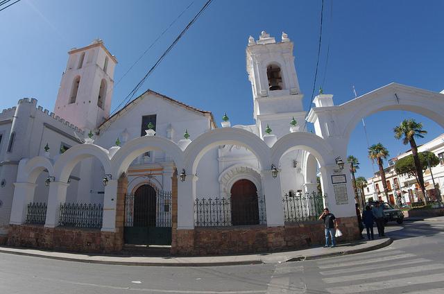 Jour 16 Bolivie Sucre calle Iturricha