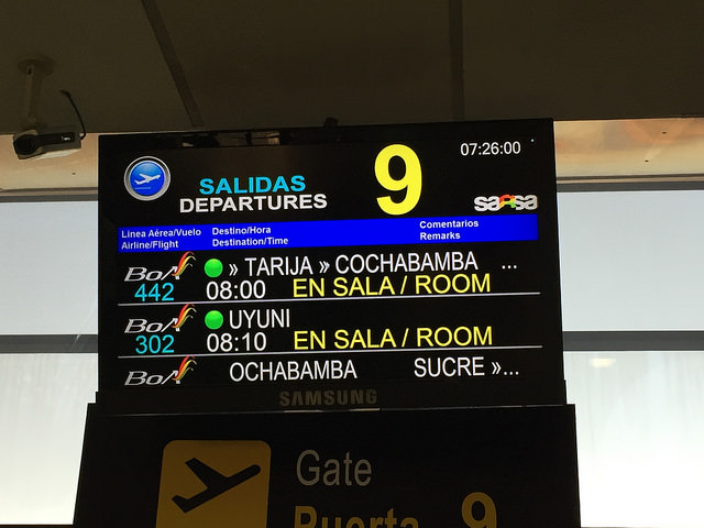 Jour 3 Bolivie La Paz Uyuni
