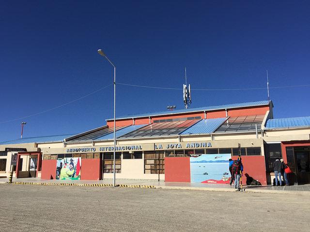 Jour 3 Bolivie Aeropuerto La Joya Andina Uyuni