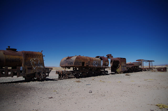 Jour 3 Bolivie Uyuni Train Graveyard
