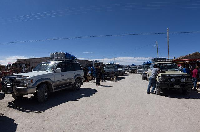 Jour 4 Bolivie Uyuni Colchani