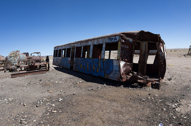 Jour 4 Bolivie Uyuni Train Graveyard