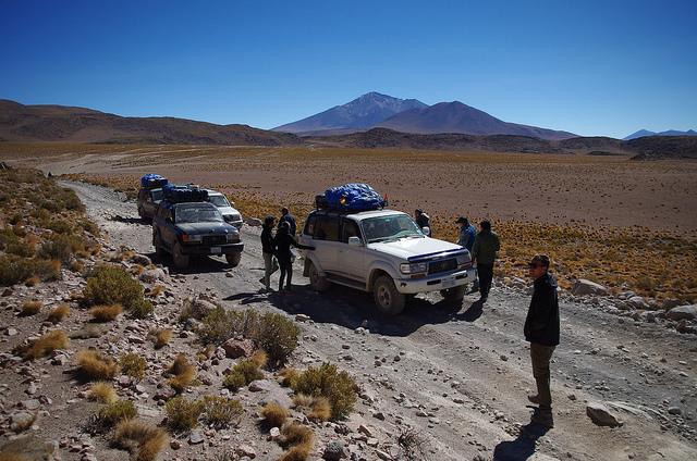 Jour 5 Bolivie Probleme 4x4