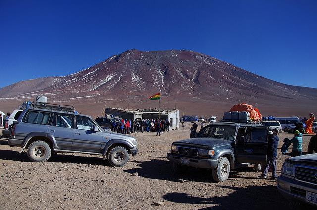 Jour 6 Bolivie Douanes Hito Cajon