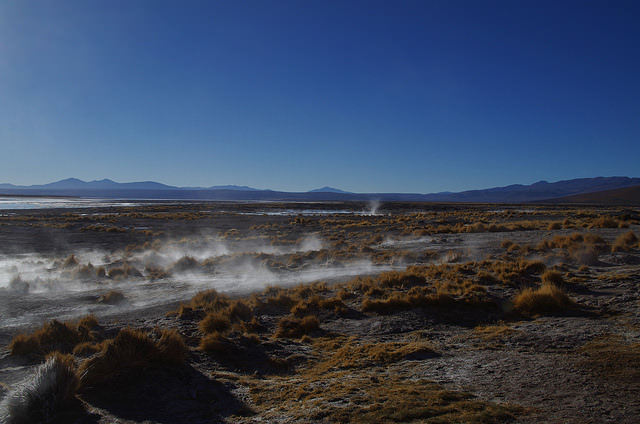 Jour 6 Bolivie Sud Lipez Polques Hot Springs