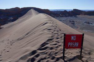 Chili – Jour 6 : San Pedro De Atacama – Valle de la Luna