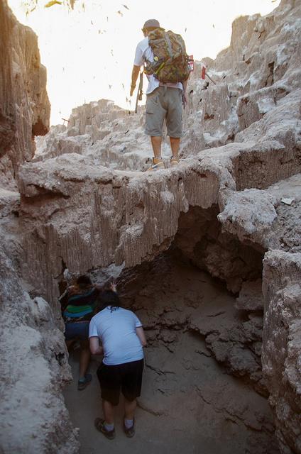 Jour 6 Chili San Pedro Atacama Valle de La Luna Grotte