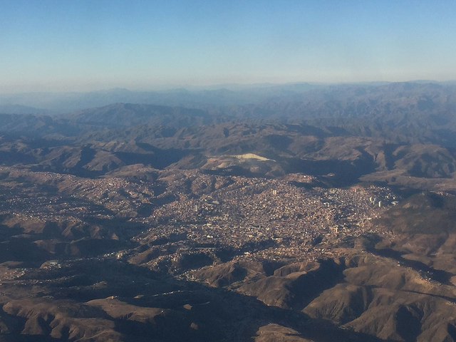 Bolivie - Sucre - La Paz - Vol Amaszonas