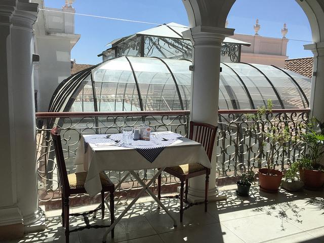 Bolivie - Sucre - Restaurant Papavero