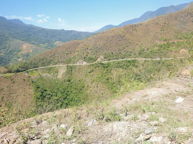 Bolivie Yungas Death Road Ruta De La Muerte