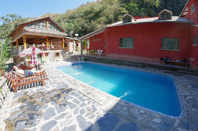 Bolivie Yungas Death Road Hotel Cabana Campeste Villabella