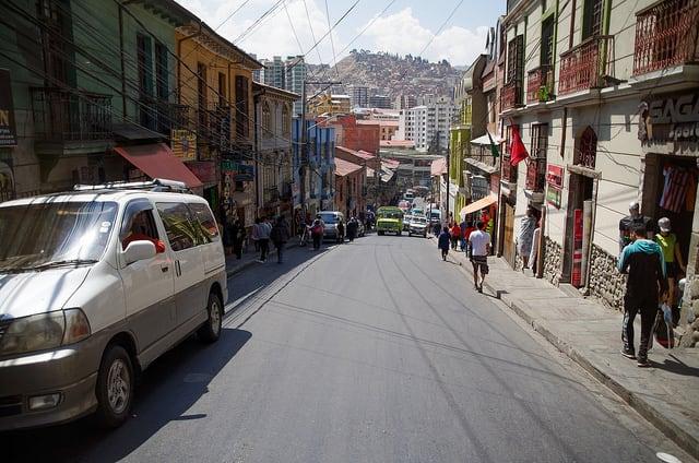 Bolivie Visite La Paz Mercado de la Brujas