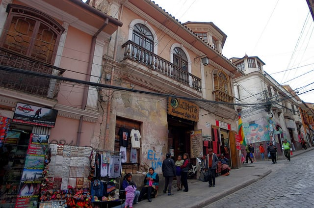 Bolivie Visite La Paz Sagarnaga
