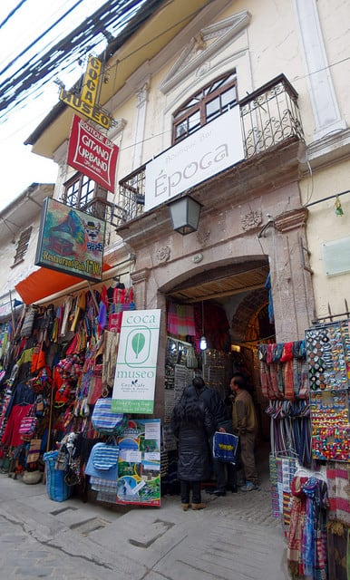 Bolivie Visite La Paz Musée Coca