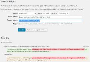 Remplacer du texte via Regex dans les post de WordPress