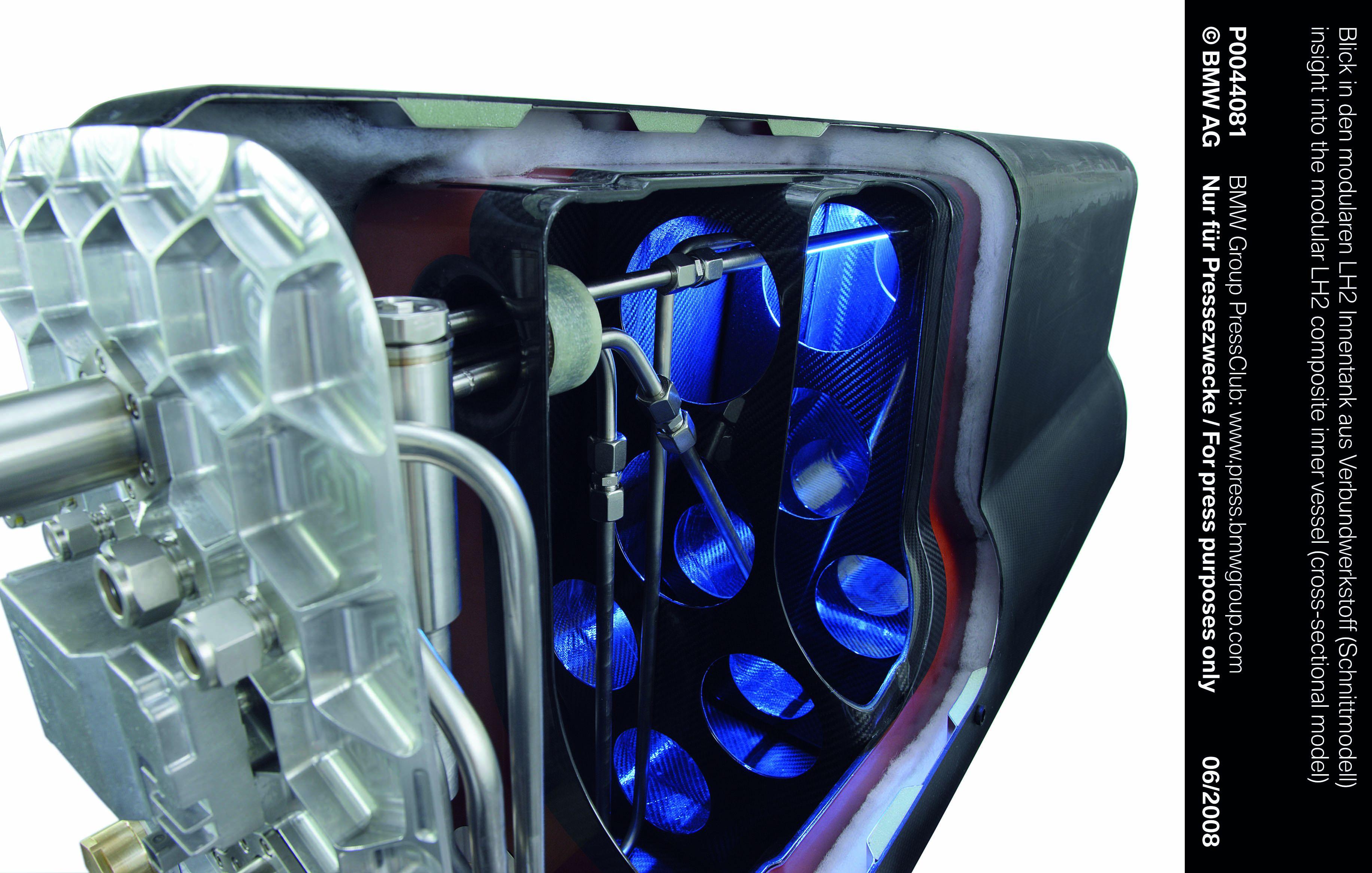 BMW invente un nouveau système de stockage de l'hydrogène