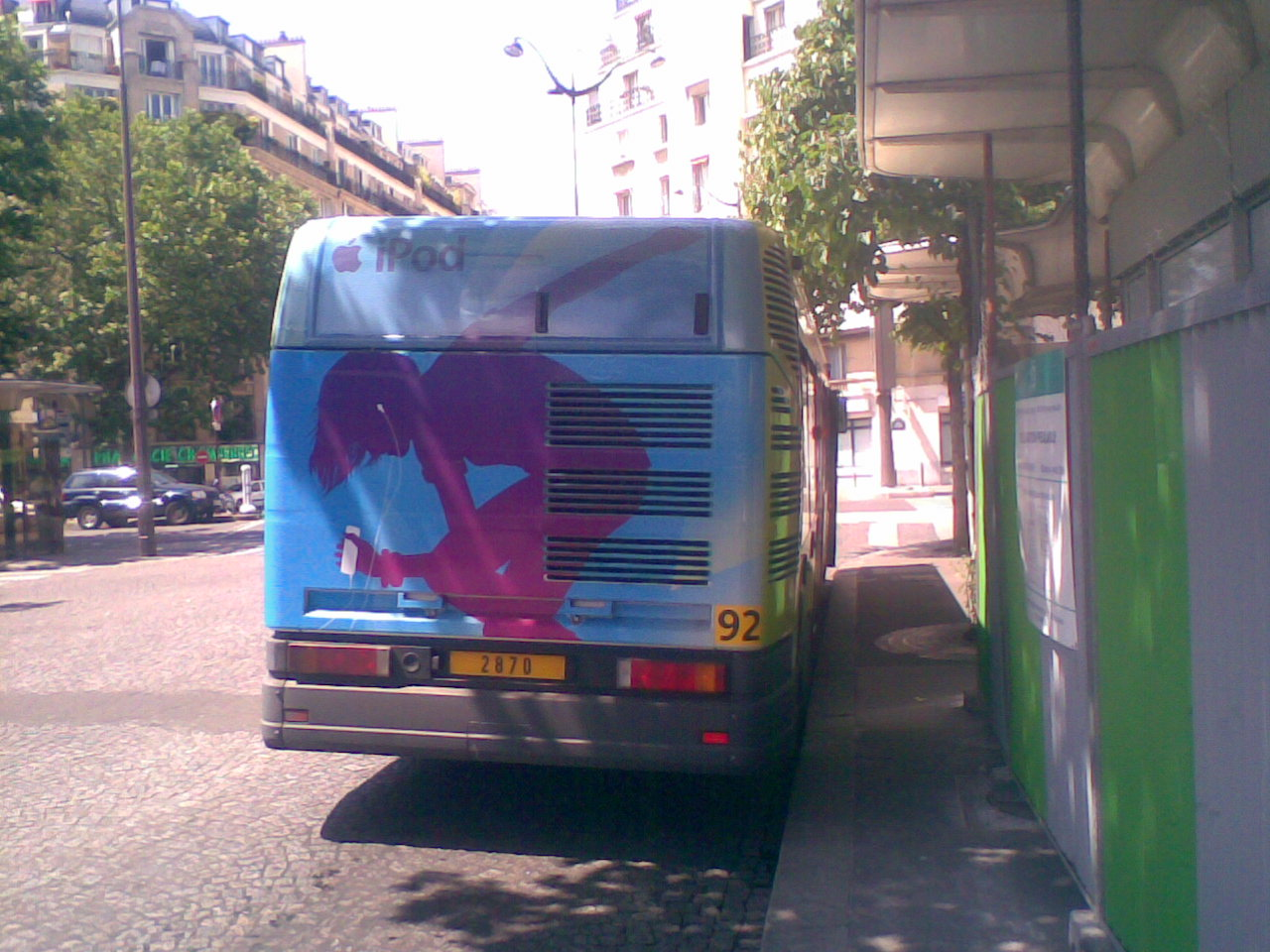 Bus Ipod Porte de Champerret !