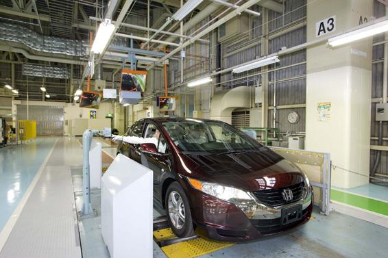 Honda FCX Clarity voiture à hydrogène