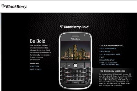 Blackberry Bold 9000 de RIM