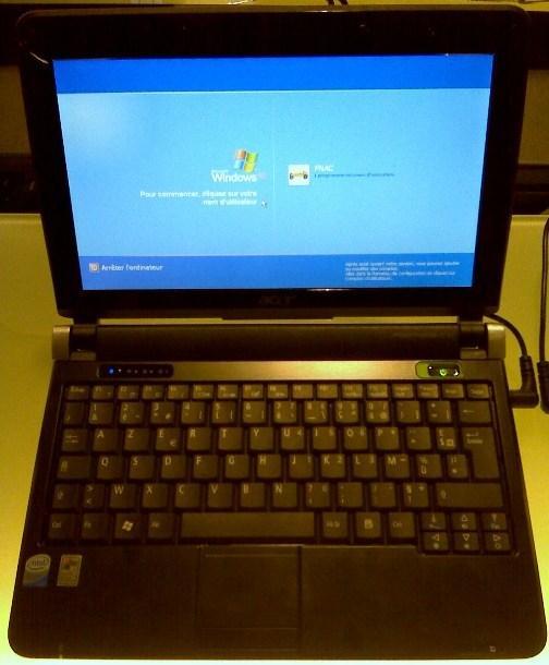 Acer Aspire One D150 Blacn à la Fnac pour 319 euros