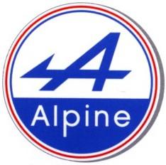 Le Logo de la Marque Alpine