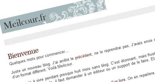 Nicolas Vanbremeersch ouvre Meilcour.fr
