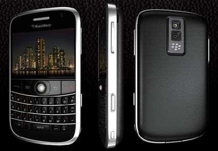 Blackberry Bolf 9000 dans le RER