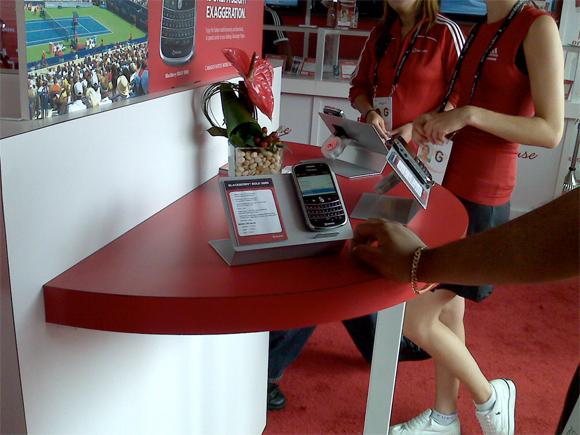 Blackberry Bold 9000 à la Rogers Cup