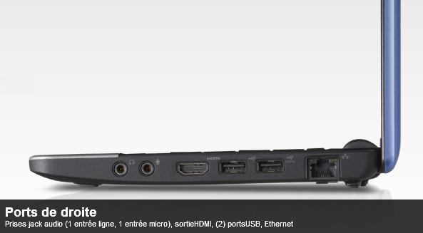 Dell Mini 10 Ecran HD