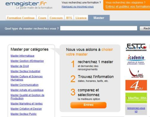 eMagister Homepage