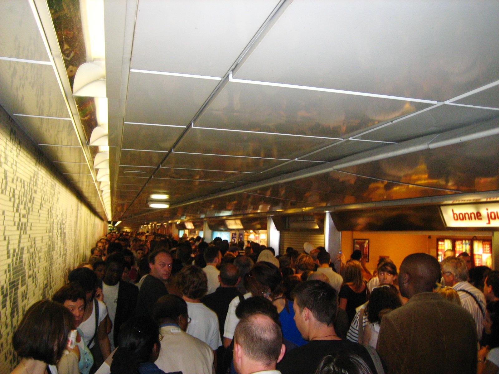 Les conséquences du Trafic Nul sur la Ligne A du Rer