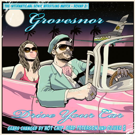Grovesnor - Drive Your Car CD cover