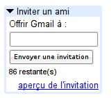 Invitations Gmail, ça sert à rien