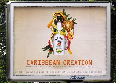 Malibu Carribean Creation Publicités