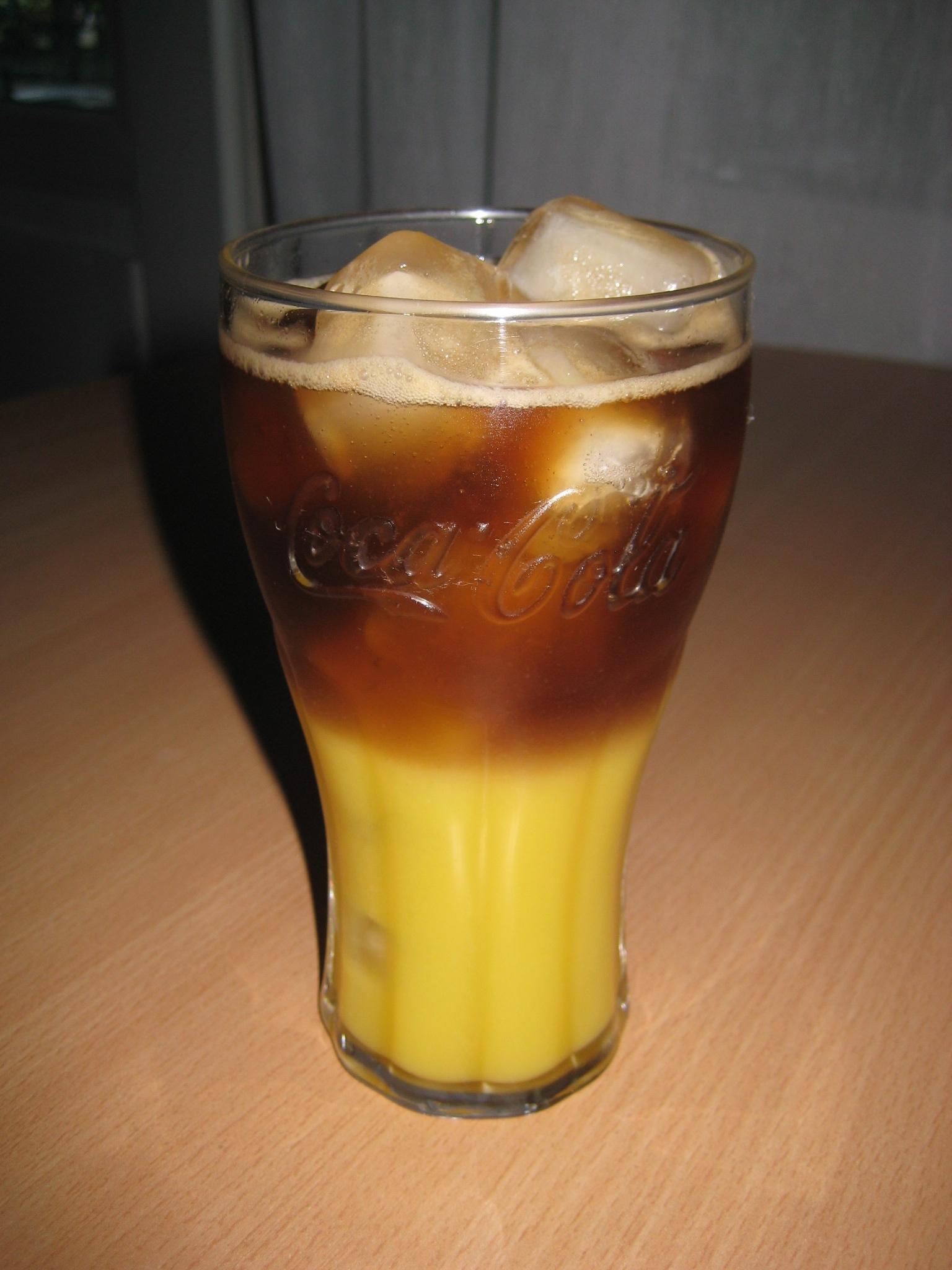Coca Cola / Jus d'orange