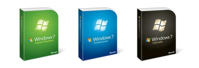 Windows Seven versions