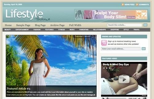Thème WordPress LifeStyle 3.0 FR