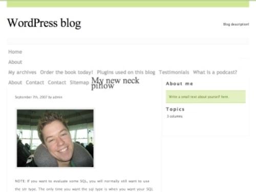 Thème WordPress Typography