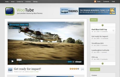 Thème WordPress Wootube FR