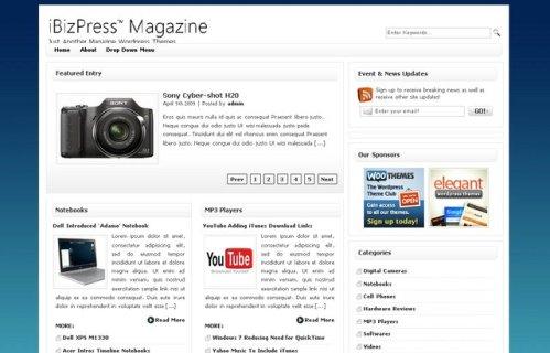 Thème WordPress iBizPress