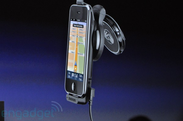 New iPhone v3 at the WWDC2009 Keynote
